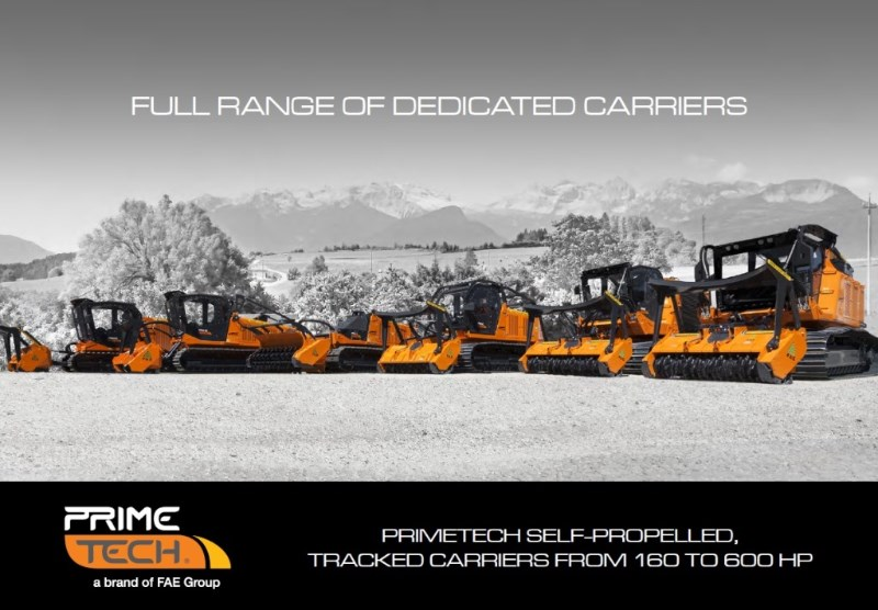 PrimeTech Self Propelled Tracked Carriers