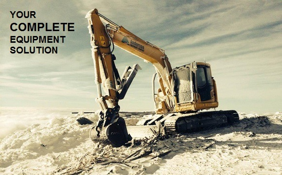 Excavator in the Cold