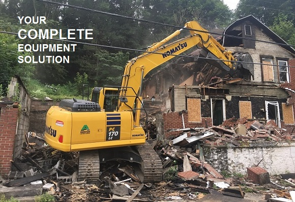Komatus PC170 Demolition